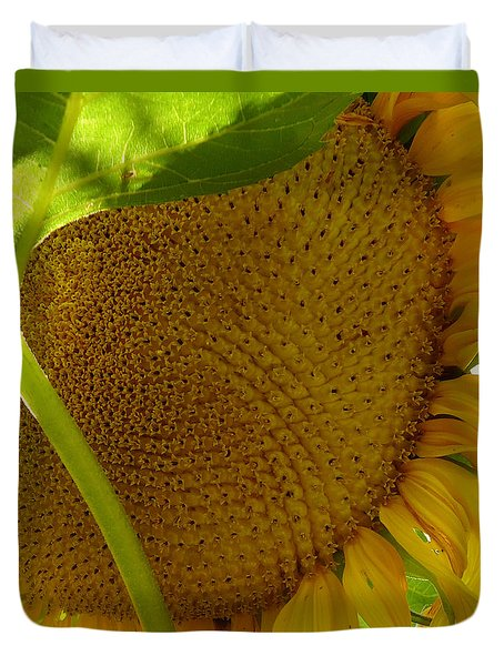 Flower Of The Sun Duvet Cover