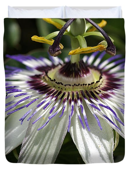 flower-Passionfruit Duvet Cover