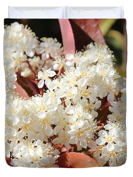 Flower Puffs Duvet Cover by Kume Bryant
