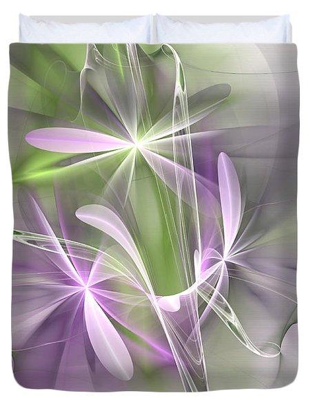 Flower Spirit Duvet Cover
