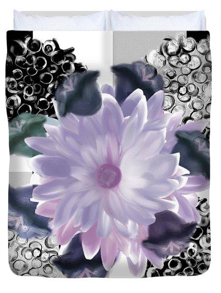 Flower Spreeze Duvet Cover by Christine Fournier