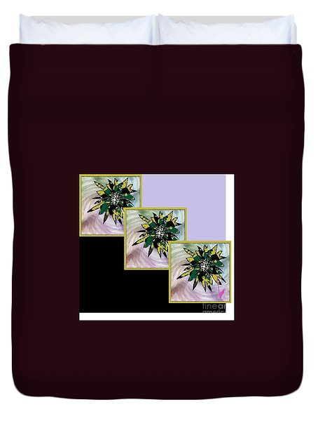 Flower Time Duvet Cover
