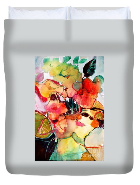 Flower Vase No. 2 Duvet Cover
