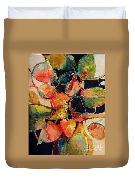Flower Vase No. 5 Duvet Cover