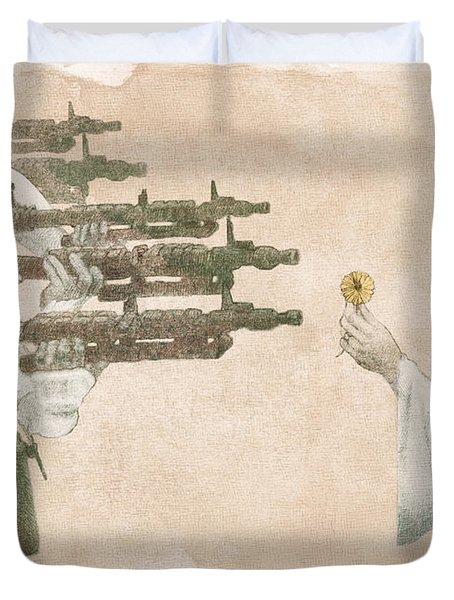 Flowers For Alderaan Duvet Cover