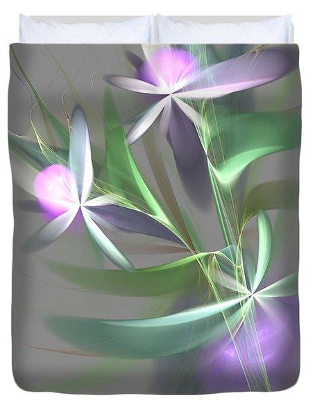 Flowers For You Duvet Cover