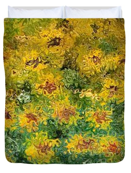 Flowers Duvet Cover by Loredana Messina