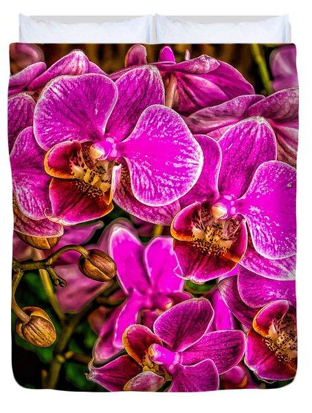 Flowers Of The Garden Duvet Cover