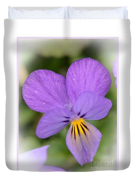 Flowers That Smile Duvet Cover