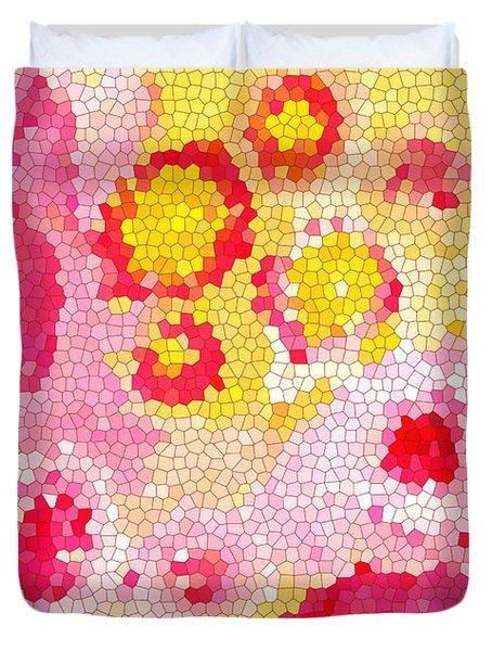 Flowers Vii Duvet Cover by Patricia Awapara