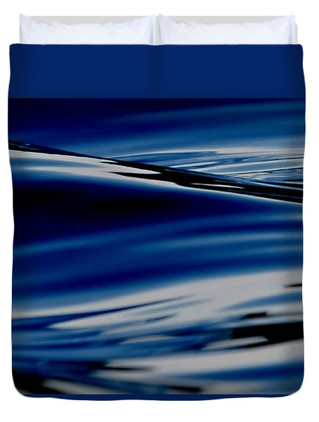 Flowing Movement Duvet Cover by Janice Westerberg