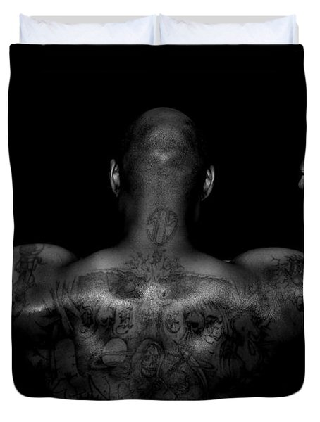 Body Art Duvet Cover