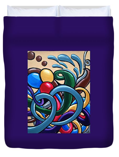 Fluid Series Part 6 Duvet Cover