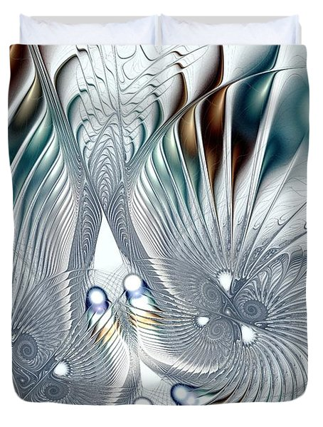 Flutter Duvet Cover by Anastasiya Malakhova