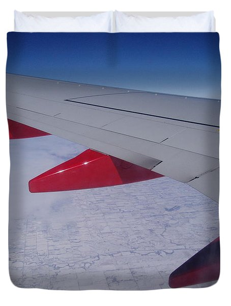 Fly Away With Me Duvet Cover
