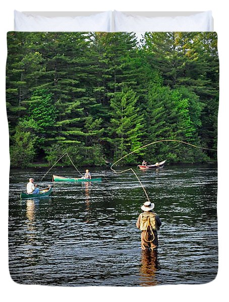 Fly fishing west penobscot river maine photograph by glenn for Fly fishing in maine