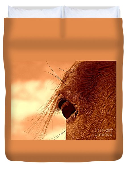 Fly In The Eye Duvet Cover
