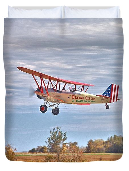 Flying Circus Barnstormers Duvet Cover