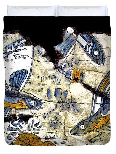 Flying Fish No. 3 Duvet Cover