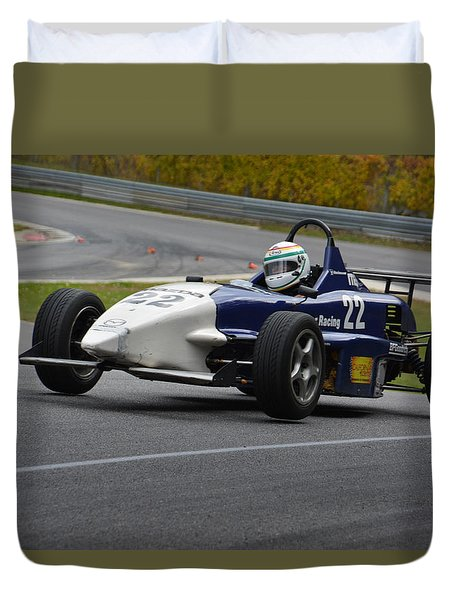 Flying Formula Duvet Cover