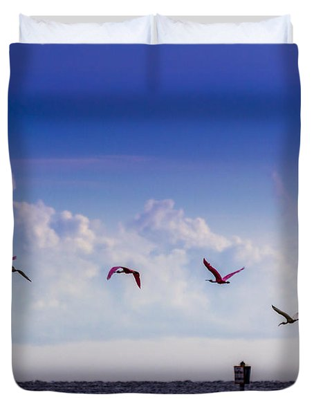 Flying Free Duvet Cover