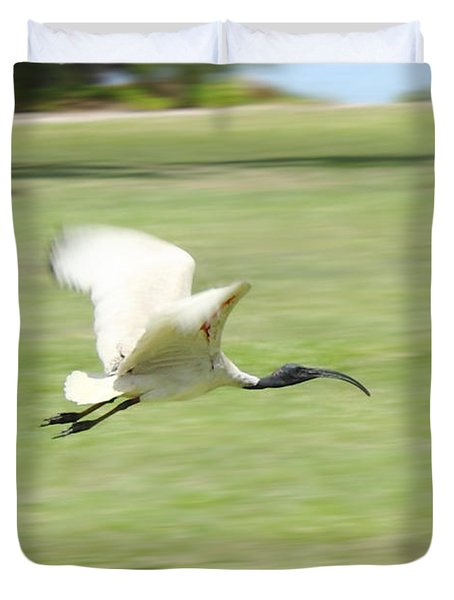 Flying Ibis Duvet Cover