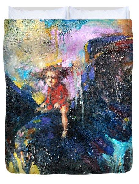 Flying In My Dreams Duvet Cover by Michal Kwarciak