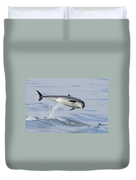 Flying Sideways Duvet Cover