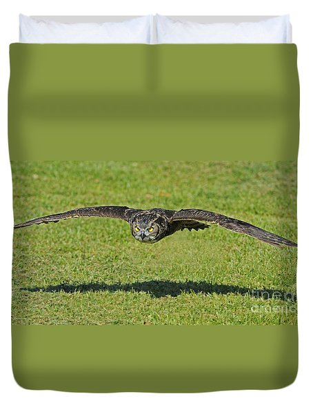 Flying Tiger... Duvet Cover
