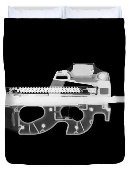 Fn Ps90 Reverse Duvet Cover