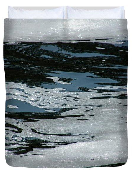 Foam On Water Duvet Cover