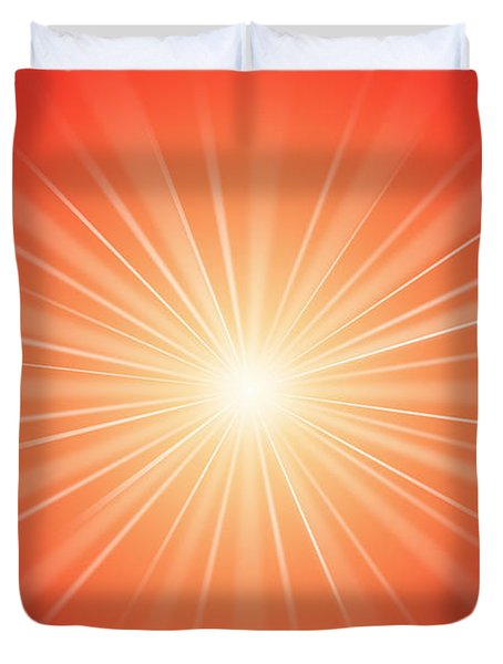 Focus For Meditation 2 Duvet Cover by Philip Ralley