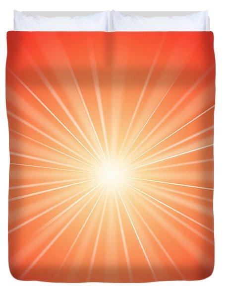 Focus For Meditation 2 Duvet Cover