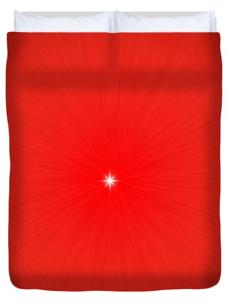 Focus For Meditation Duvet Cover by Philip Ralley