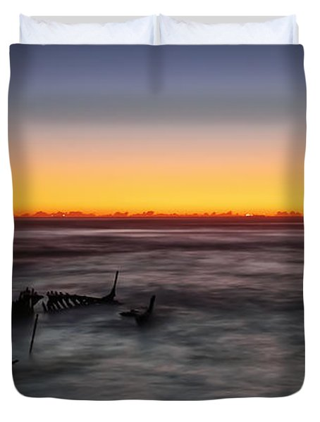 Forever At Sea Duvet Cover