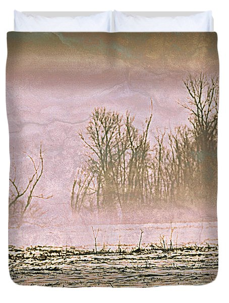 Fog Abstract 2 Duvet Cover by Marty Koch