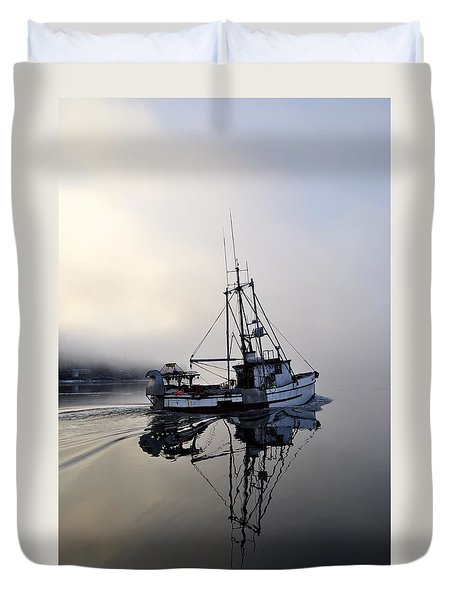 Fog Bound Duvet Cover