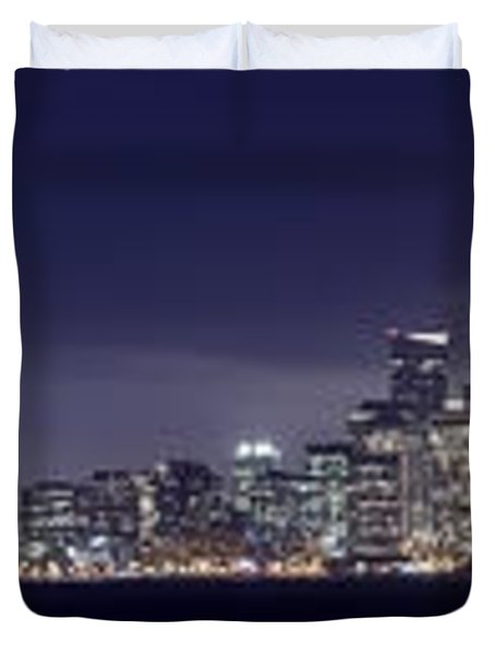 Fog City San Francisco2 Duvet Cover by Mike Reid