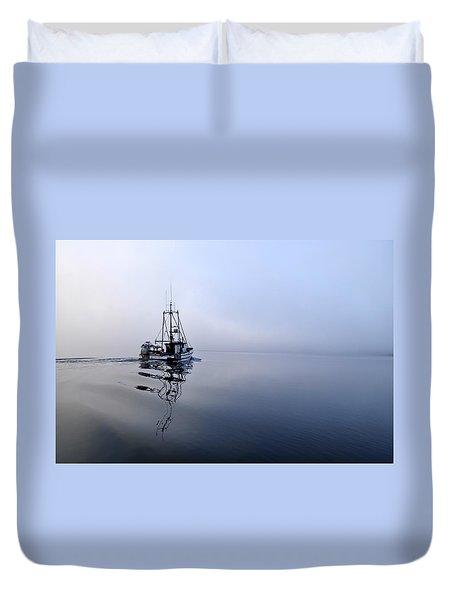 Foggy Duvet Cover by Cathy Mahnke