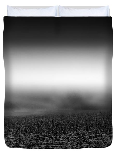 Foggy Field Duvet Cover