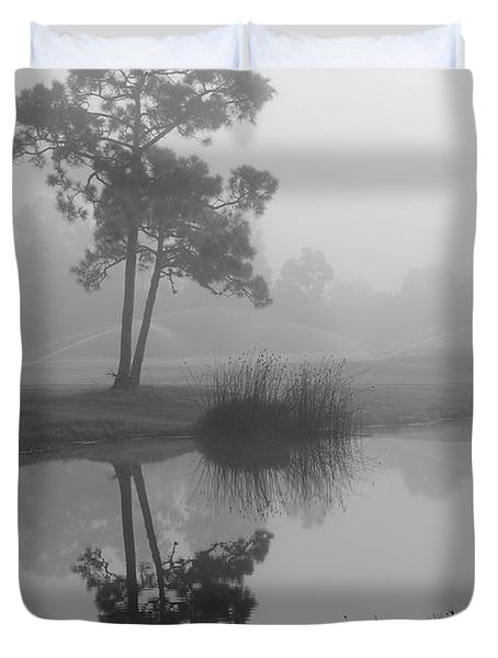Foggy Morning 2 Duvet Cover