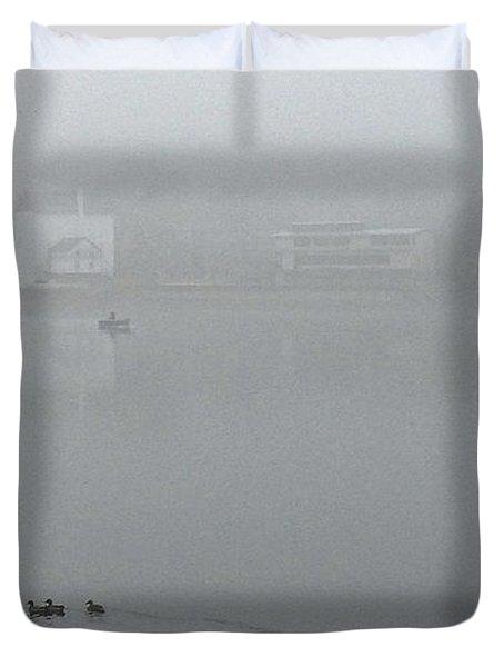 Foggy Morning In Paradise - 01 Duvet Cover