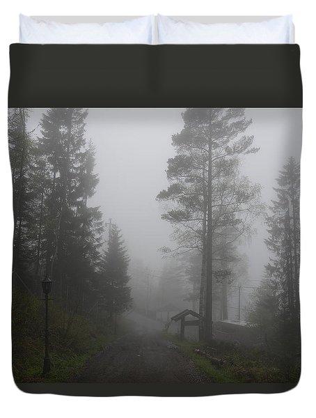 Foggy Romance 1 Duvet Cover