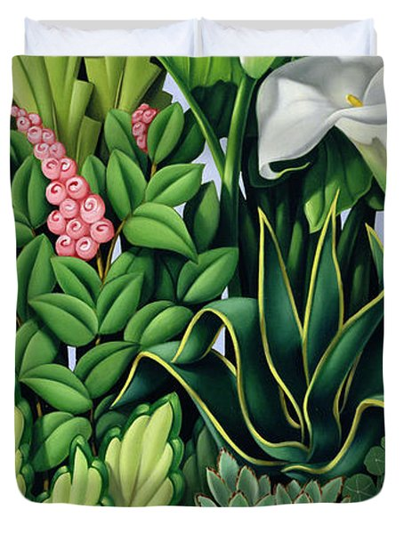 Foliage Duvet Cover by Catherine Abel