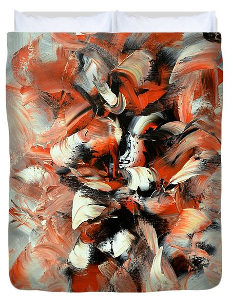 Folies Bergeres Duvet Cover by Isabelle Vobmann