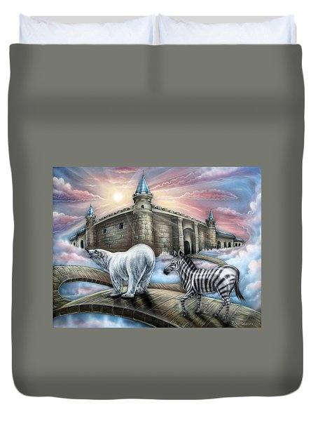 Follow Me Duvet Cover by John Bower