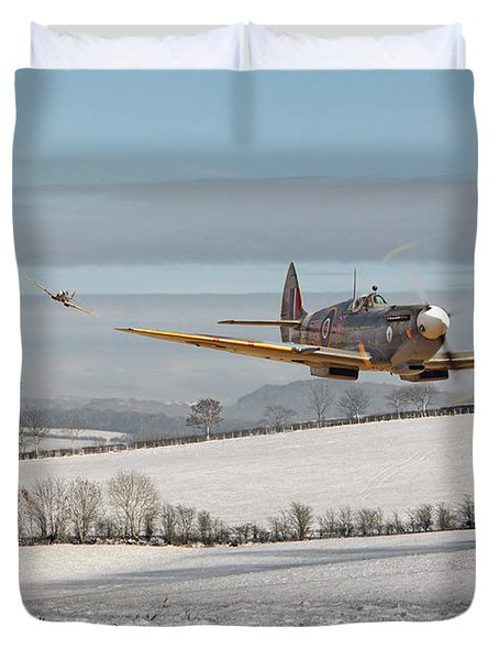 Follow My Leader Duvet Cover by Pat Speirs