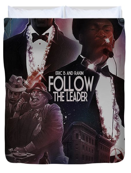 Follow The Leader 2 Duvet Cover by Nelson Dedos Garcia