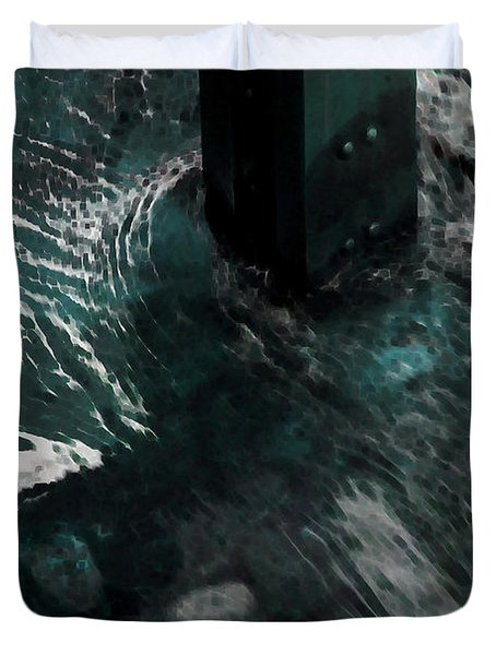 Duvet Cover featuring the photograph Follow The Tao by Lauren Radke