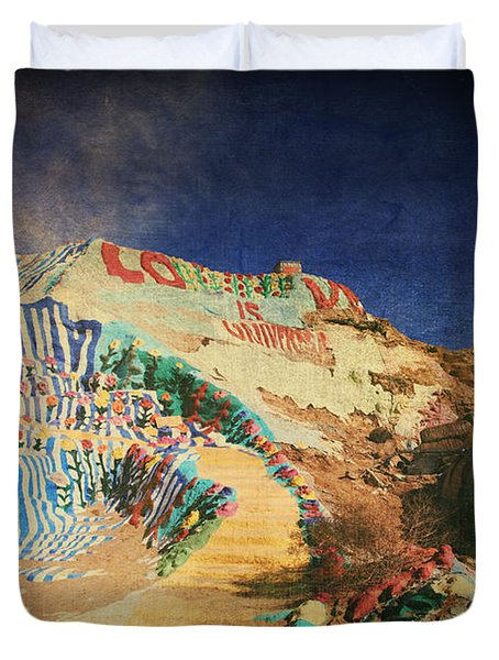 Follow The Yellow Brick Road Duvet Cover by Laurie Search